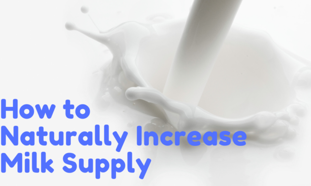 How to Naturally Increase Milk Supply