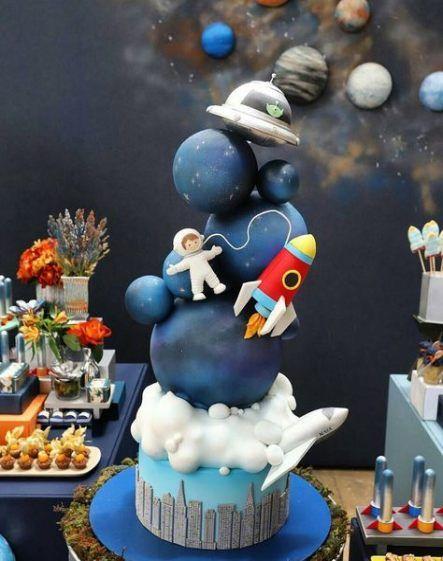 1st birthday ideas for boys space themed