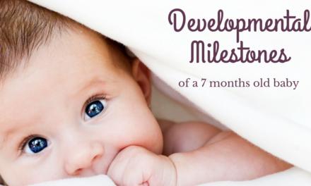 Baby Development Milestones at 7 Months