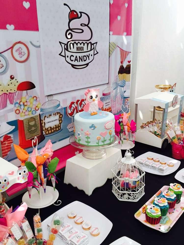 Owl Themed birthday party