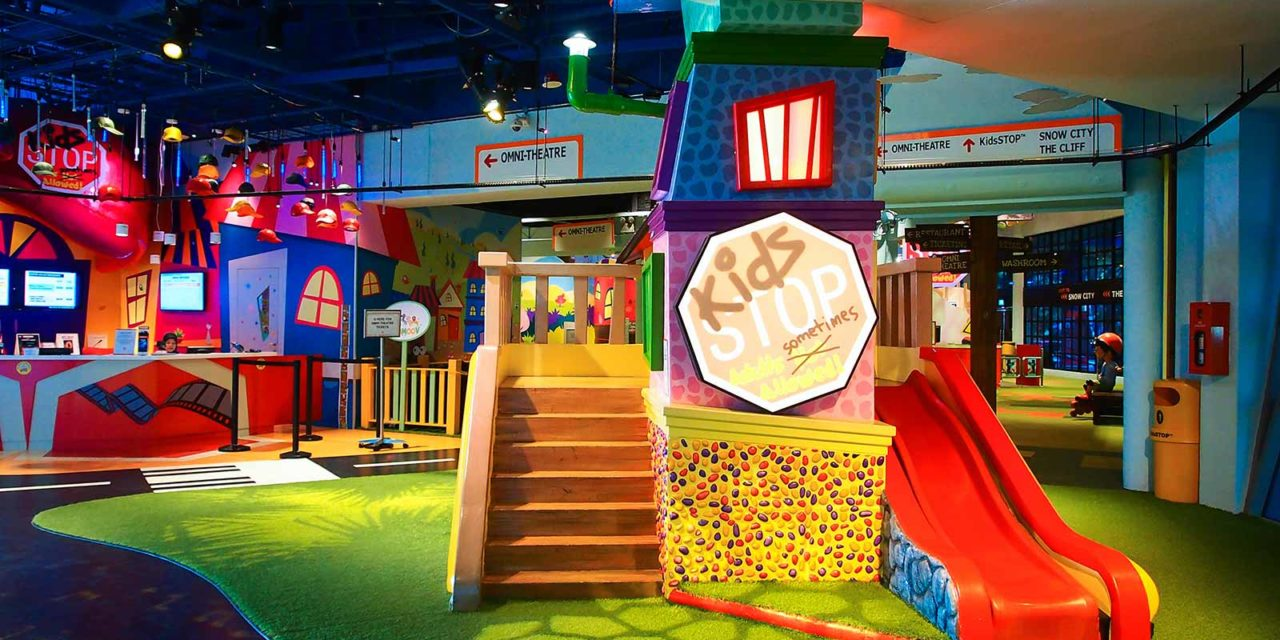 KidsSTOP: An Indoor Playground For and Of Science